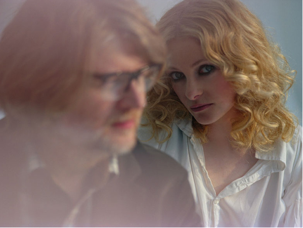 Alison Goldfrapp and Will Gregory