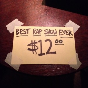 Best Rap Show Ever