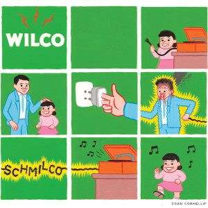 Wilco shared cover art for the new album, Schmilco, on its web site.